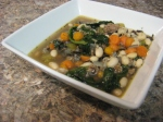 White Bean & SpinachSoup